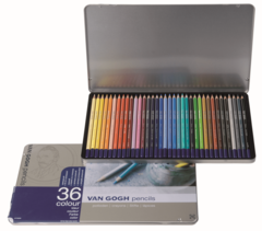 Набор из 36 цветных карандашей Van Gogh