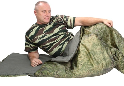 Спальный мешок-одеяло Цифра
