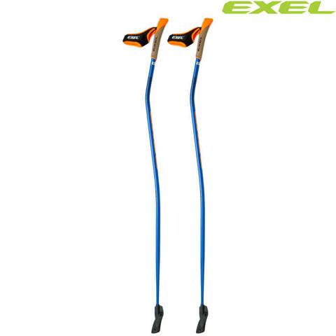 Скандинавские палки EXEL Nordic Pro Curve OEB QR Carbon 100%