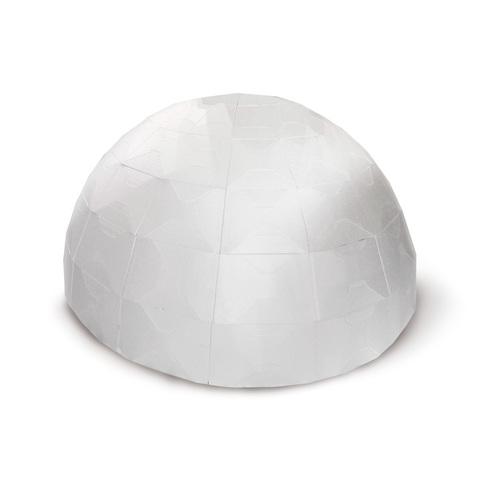 Схема купола из пенопласта