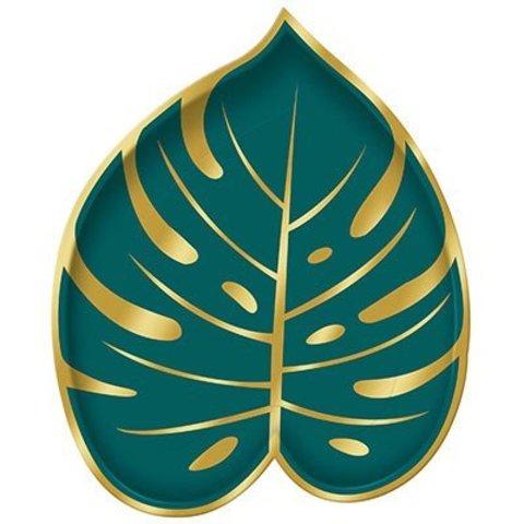 Тарелки Пальмовый Рай, 8 шт