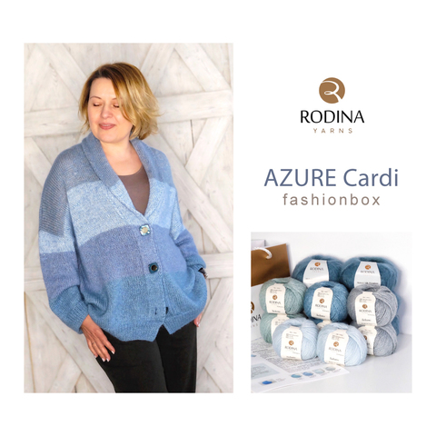 Fashionbox AZURE Cardi