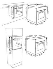 Духовой шкаф Zigmund & Shtain EN 106.511 B - схема