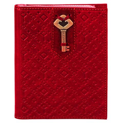 Обложка для автодокументов «Ключ». Цвет красный