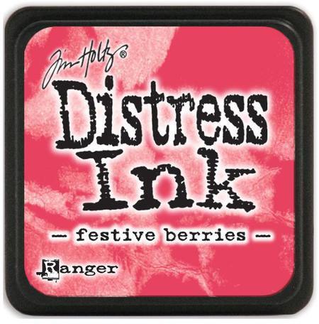 Подушечка Distress Ink Ranger - Festive berries