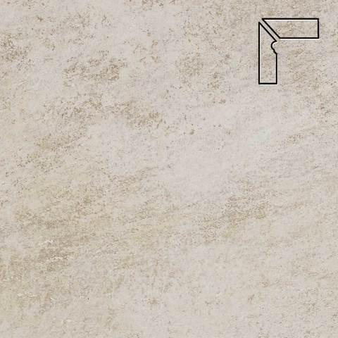 Stroeher - Keraplatte Asar 620 sass длина стороны угла 290 артикул 9117 - Плинтус клинкерной ступени левый