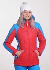 Утеплённая прогулочная лыжная куртка Nordski National Red 2018 женская