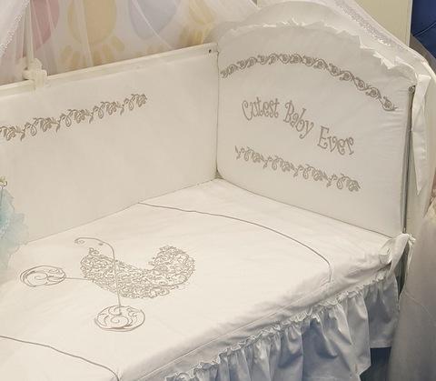 Детское постельное белье Коляска 3 предмета