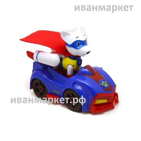 Аполло с машинкой и рюкзаком-трансформером Щенячий патруль (Супер Миссия)