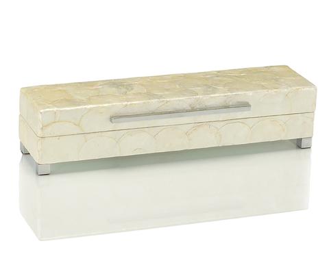 White Capiz Shell Box