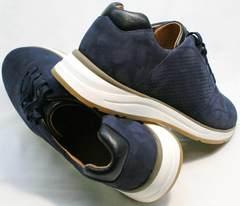 Мужские спортивные туфли кроссовки Faber 1957134-7 Blue