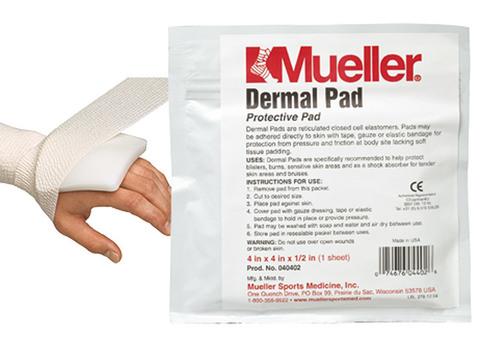 040401 Dermal Pads, Дермальные подушки (защита от ушибов), (10,0 х 10,0 х 0,5) см   12шт/у