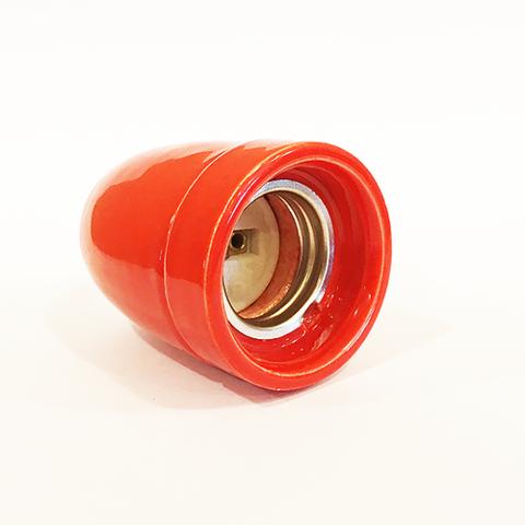 Керамический ретро патрон KS-4 (Красный)