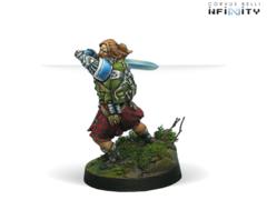 Wallace (вооружен EXP CC Weapon)