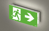 Автономный светильник аварийного освещения UP LED LITE с пиктограммой для дальности распознавания 20 метров