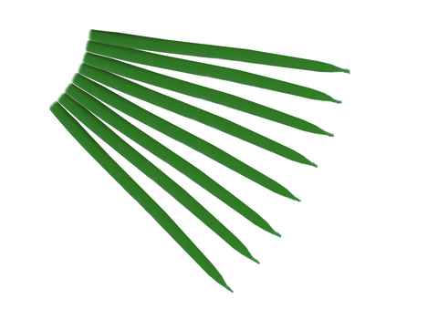 Свеча маканная зеленая