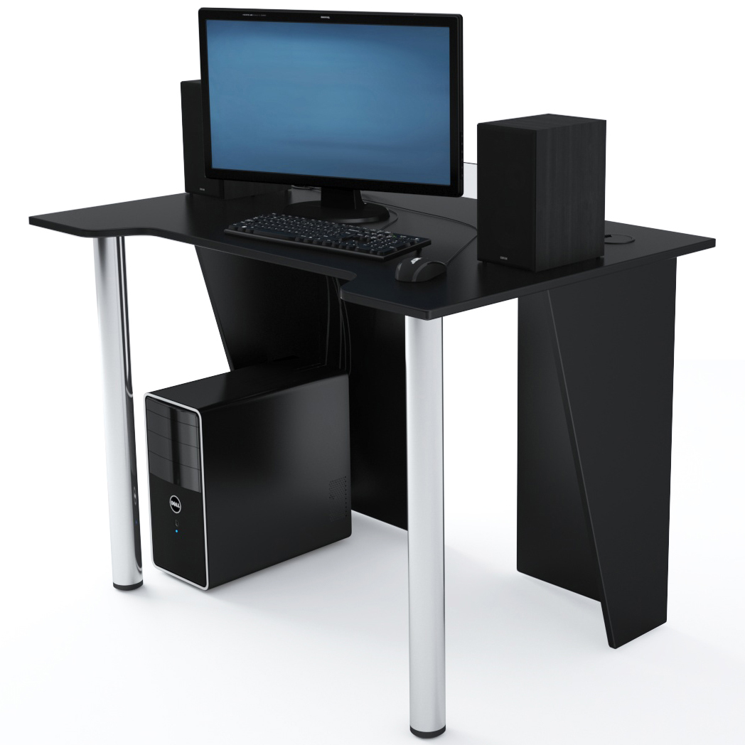 Стол Компьютерный LevelUP 1100 Черный