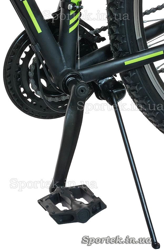Педаль и подножка горного складного универсального велосипеда Formula Hummer 2015 (Формула Хаммер)