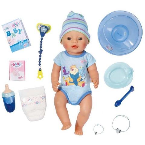 Беби Бон Мальчик в голубом комбинезоне