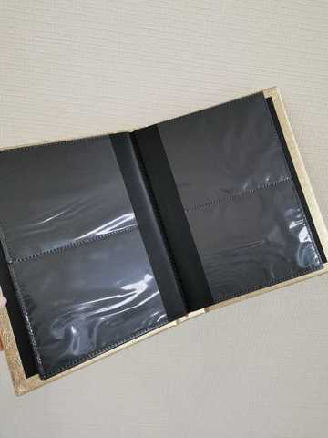 Альбом для слайдеров (золото) 120 карманов