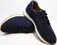 Туфли под кроссовки мужские летние Faber 1957134-7 Blue