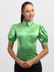 4143-4 фут-ка женская, зеленая