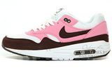 Кроссовки женские Nike Air Max 87 Pink White Brown