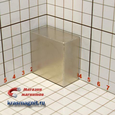 Неодимовый магнит квадрат 40*40*20 мм