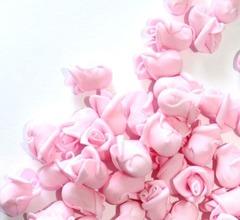 Роза из фоамирана мини, 1,8 см, 1 шт.