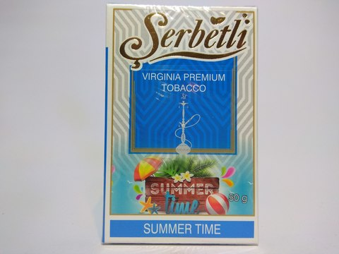 Табак для кальяна SERBETLI Summer Time 50gr