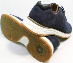 Удобные кроссовки для повседневной носки мужские Faber 1957134-7 Blue