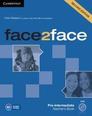 face2face (Second Edition) Pre-intermediate Teacher's Book with DVD