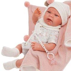 Munecas Antonio Juan Кукла Роза в розовом, 40 см (3308)