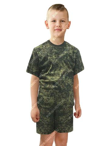 Комплект футболка+шорты Зарница Цифра