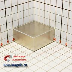 Неодимовый магнит Квадрат 40х40х20 мм
