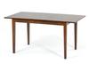 Раздвижной обеденный стол Manukan из массива гевеи