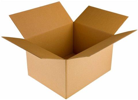 Картонные коробки 400х300х130 гофрокороб  бурый