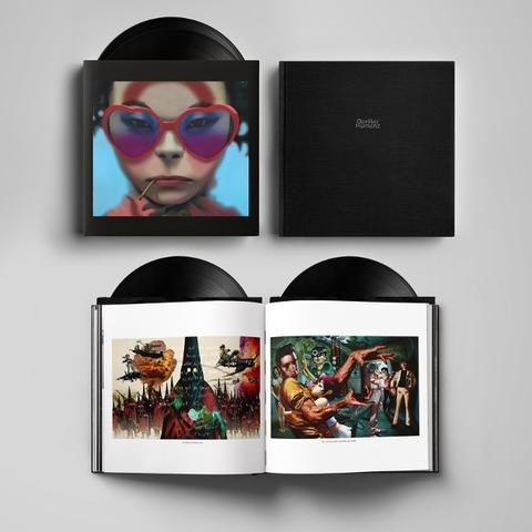 Виниловая пластинка. Gorillaz - Humanz (Deluxe Box Set)