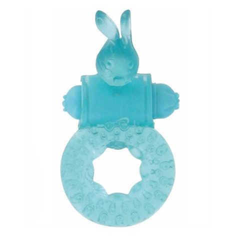 Эрекционное виброкольцо Rabbit Loop Cockring, 2,5 см.
