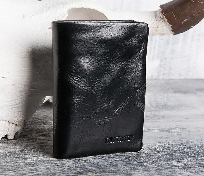 WL280-1 Вместительный мужской кошелек с монетницей фото 02