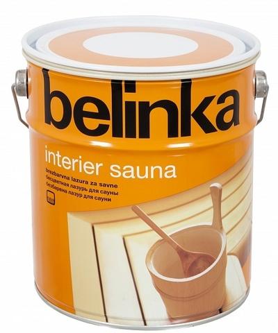 Belinka Interier Sauna Термостойкое покрытие для сауны