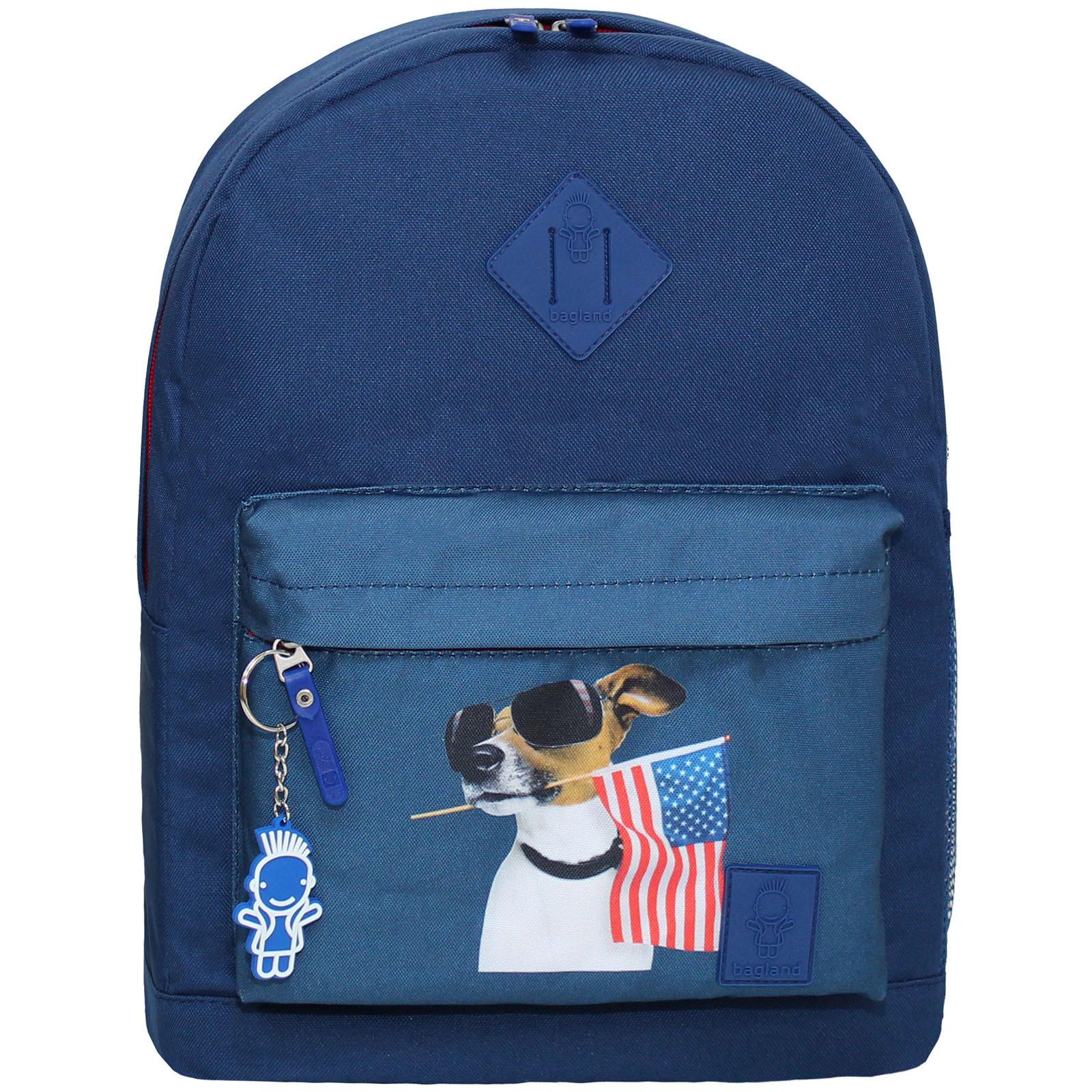 Городские рюкзаки Рюкзак Bagland Молодежный W/R 17 л. синий 161к (00533662) Без_имени-13_161к.jpg