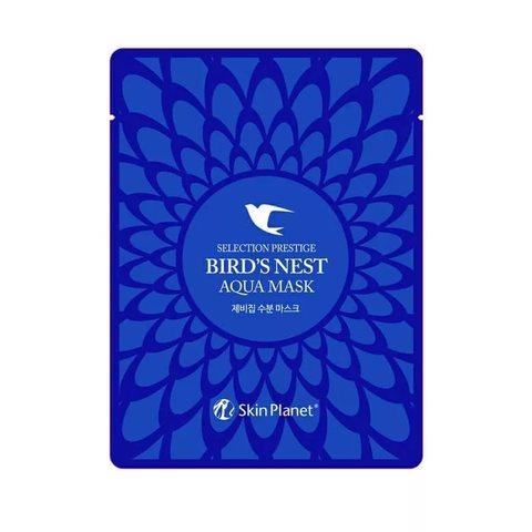 Тканевая маска для лица ласточкино гнездо Skin Planet Selection Prestige Bird's Nest Aqua Mask