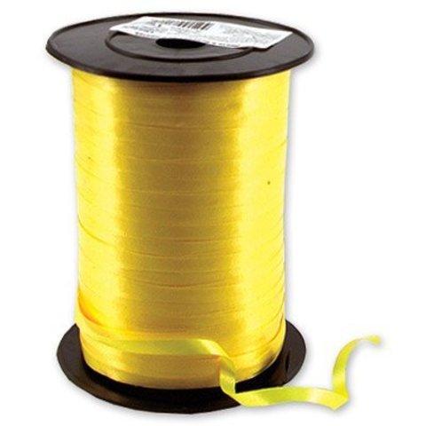 Лента 5ммХ500м желтая #2