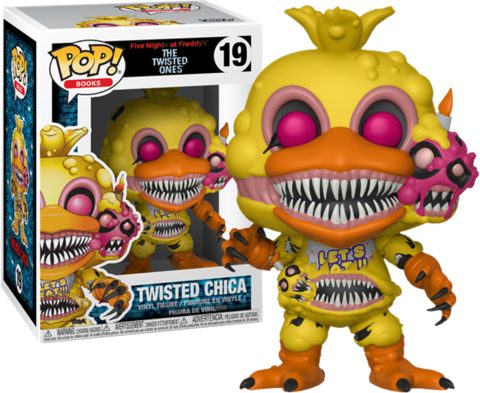 Фигурка Funko POP! Vinyl: Books: FNAF: Twisted Chica