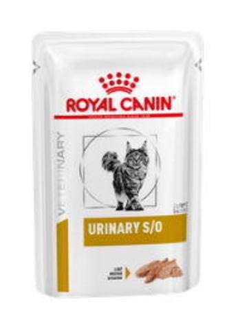 Royal Canin Urinary S/O (паштет) для кошек при заболеваниях дистального отдела мочевыделительной системы 85 гр