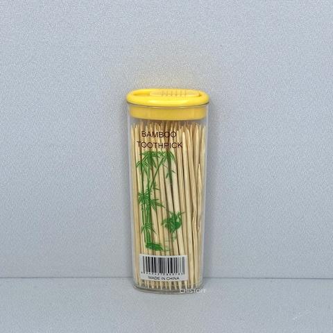 Зубочистки в пластиковом тубусе (50 шт.)
