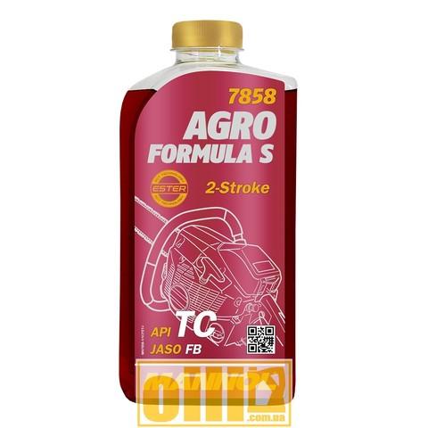 Mannol 7858 AGRO FORMULA S API TC 1л