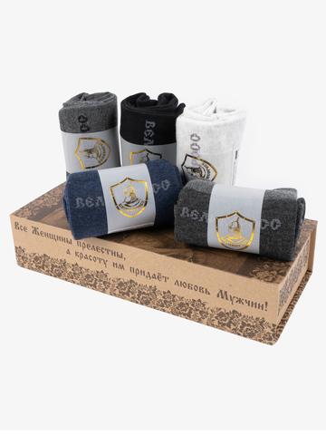 Подарочный набор Правильных носков РУСЛАН И ЛЮДМИЛА (5 пар)