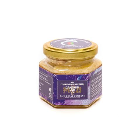 Мёд с эфирными маслами «Сладкий сон» 120 г